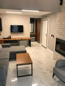 منطقة جلوس في Alfa Suites & SPA