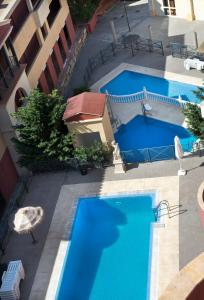 A view of the pool at Apartamentos Turisticos Aureus Bahia Sur or nearby