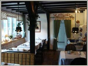 A restaurant or other place to eat at Hotel Pirsch-Mühle