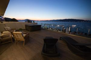 A balcony or terrace at Aianteion Bay Luxury Hotel & Suites