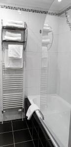 A bathroom at Argyll Apartments