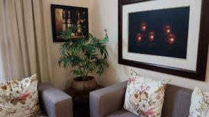 A seating area at Hillton Manor Guest House