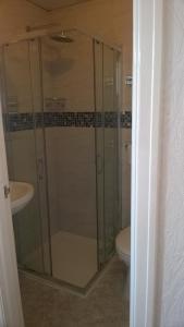 A bathroom at Legends Hotel
