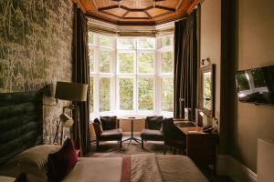 A seating area at Jesmond Dene House