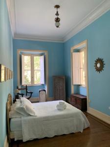 Cama o camas de una habitación en Villa Alexandrino