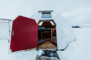 Sky sighting Iglúhús - Stay'in Árbakki during the winter