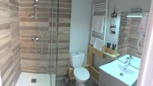 A bathroom at Relais Mont Jura Adults Only