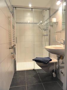 Ein Badezimmer in der Unterkunft Studio Riedwiese