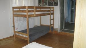 Poschodová posteľ alebo postele v izbe v ubytovaní Privat 2 na Sihoti