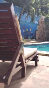 The swimming pool at or close to Hotel Pousada Sol & Lua