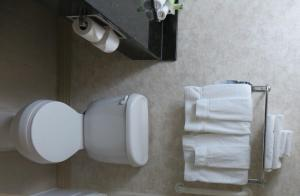 A bathroom at Holiday Inn Express - Plymouth, an IHG Hotel