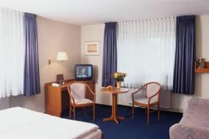 A seating area at Kocks Hotel Garni