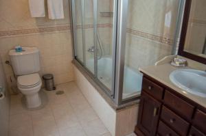 A bathroom at Casa Rural Anxeliña