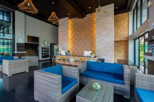 Гостиная зона в Buri Tara Resort