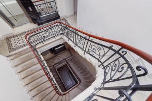 Balkón nebo terasa v ubytování Apartments Cracow Miodowa by Renters