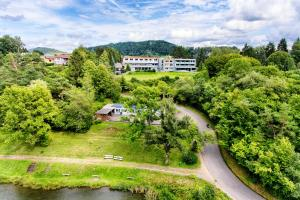 A bird's-eye view of Seehotel am Stausee