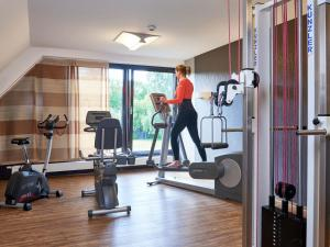 The fitness center and/or fitness facilities at Hotel Schnitterhof