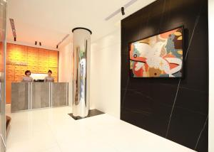 A television and/or entertainment center at Cityinn Hotel Taipei Station Branch I