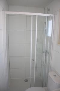 Een badkamer bij Chalet Charlee