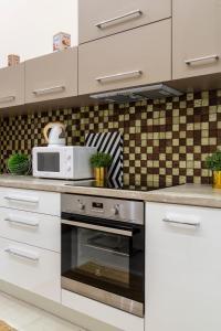 Kuchyň nebo kuchyňský kout v ubytování Deluxe Downtown Home 2 BEDRM, 2 BATHRM
