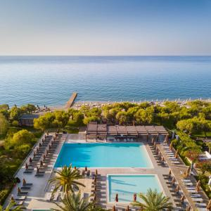 A view of the pool at Doryssa Seaside Resort or nearby