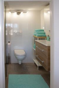 Een badkamer bij little ibiza
