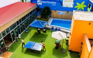A view of the pool at Pool Paradise Lima or nearby