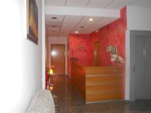 A bathroom at Hostal Ca La Irene