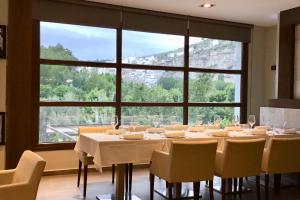 A restaurant or other place to eat at Hotel Spa Elia