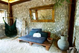 Zona de estar de Huaya Camp