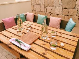 Um restaurante ou outro lugar para comer em Terra Kriola