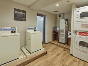Dapur atau dapur kecil di HOTEL MYSTAYS Kiyosumi shirakawa