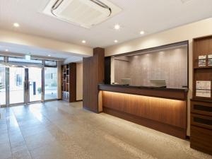 Area lobi atau resepsionis di HOTEL MYSTAYS Kiyosumi shirakawa