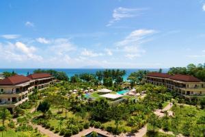 A bird's-eye view of Savoy Seychelles Resort & Spa
