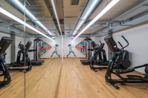 The fitness center and/or fitness facilities at Gast - und Kulturhaus Der Teufelhof Basel