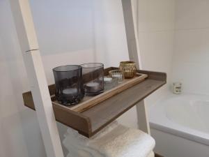 Een badkamer bij La Semois Et Moi