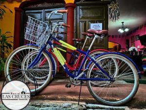 Biking at or in the surroundings of Hostal Las Cruces