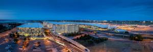 A bird's-eye view of ibis Brisbane Airport