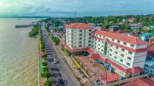 A bird's-eye view of Ngwe Moe Hotel