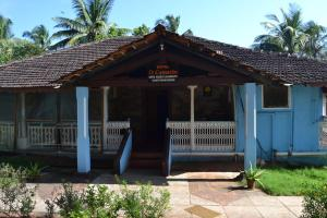 The building in which the guest house is located