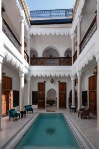The swimming pool at or near Riad Spice by Marrakech Riad
