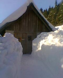 Horský Ranč зимой