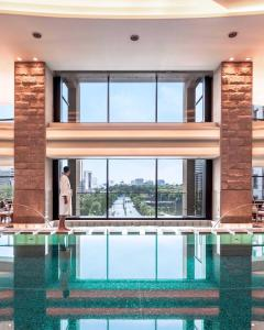 The swimming pool at or near The Peninsula Tokyo