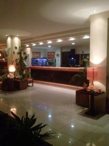 Лобби или стойка регистрации в Hotel Lefkadi