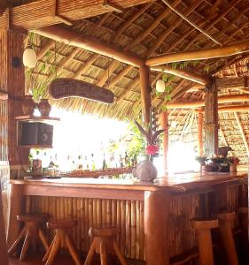 A restaurant or other place to eat at Totoco Eco-lodge