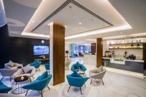O lounge ou bar de Boudl Al-Wadi