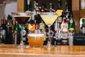 Drinks at Glen Mhor Hotel