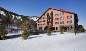 Dedeman Palandoken Ski Lodge Hotel during the winter