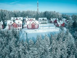 A bird's-eye view of Apartment Bolfenk Pohorje