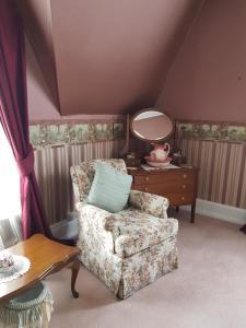 A seating area at Lisburn House Dunedin